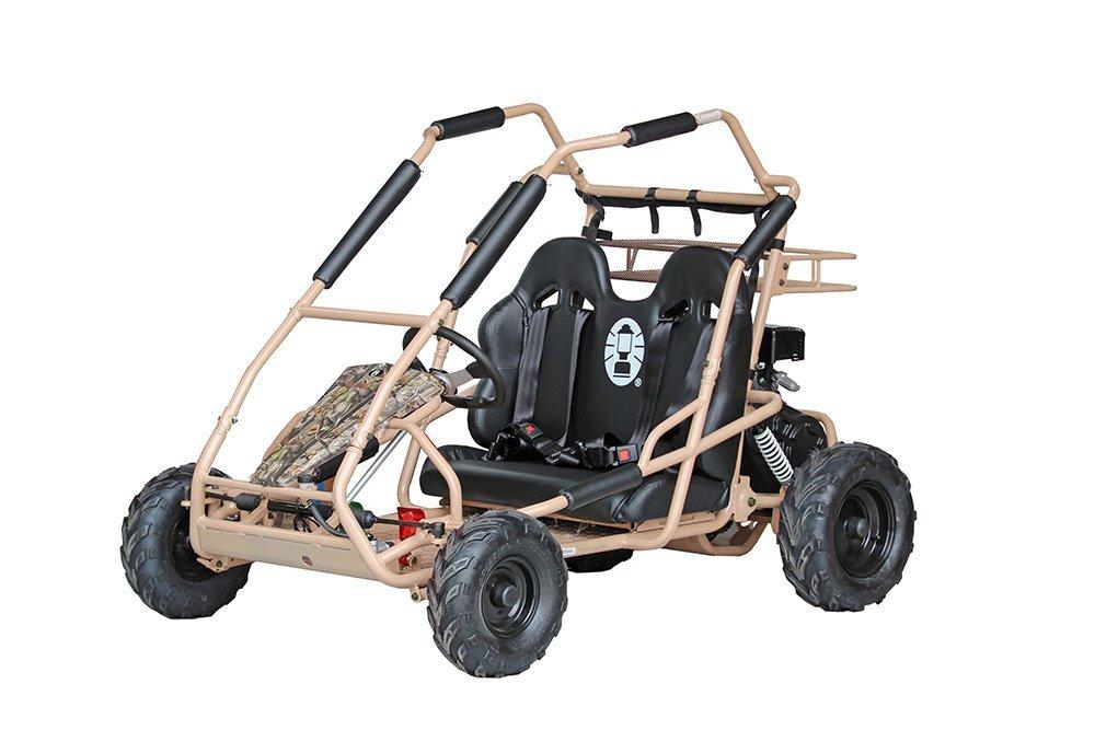 Coleman Powersports KT-196C Go Kart (Camo)