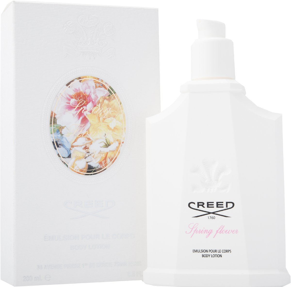 Creed Women Spring Flower Moisturising Cleansing 200ml Body Lotion