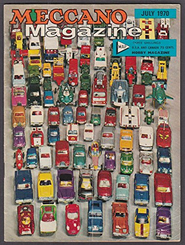 Meccano Dinky Toys (MECCANO MAGAZINE Tamaha 50 test crawler tracks Lathe 7 1970 Dinky toys ad)