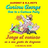 Jorge el curioso va a una fiesta de disfraces/Curious George Goes to a Costume Party (Bilingual edition) (Spanish and English Edition)