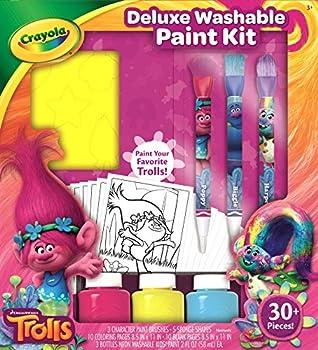 Crayola Trolls Deluxe Washable Paint Kit