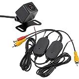 高画質小型防水カメラ+ワイヤレストランスミッター送受信セット 2.4GHz 12V専用 カメラは人気のA0119N 広角170度 防水・防塵仕様 FMTWTA0119