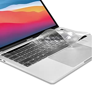 ProElife Ultra Thin TPU Keyboard Cover Skin for Newest MacBook Pro 13.3