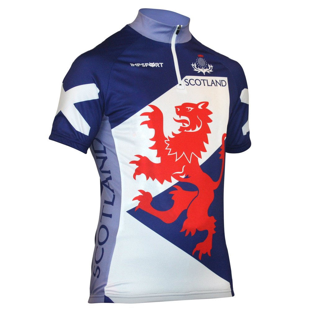 Impsport Men's Scotland National Classic Cycling Jersey