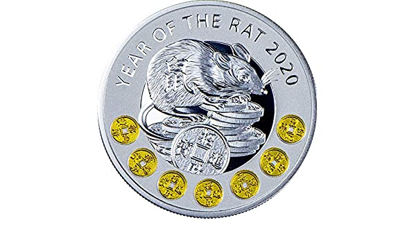 Coin Show Calendar 2020.2020 Nu Modern Commemorative Powercoin Year Of The Rat