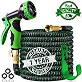 Best Garden Hoses - 2019 Upgraded 50 ft Expandable Garden Hose,Leakproof Lightweight Review