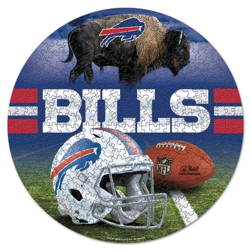 Puzzle Bills Buffalo - WinCraft Buffalo Bills NFL 500-Piece Puzzle in Box