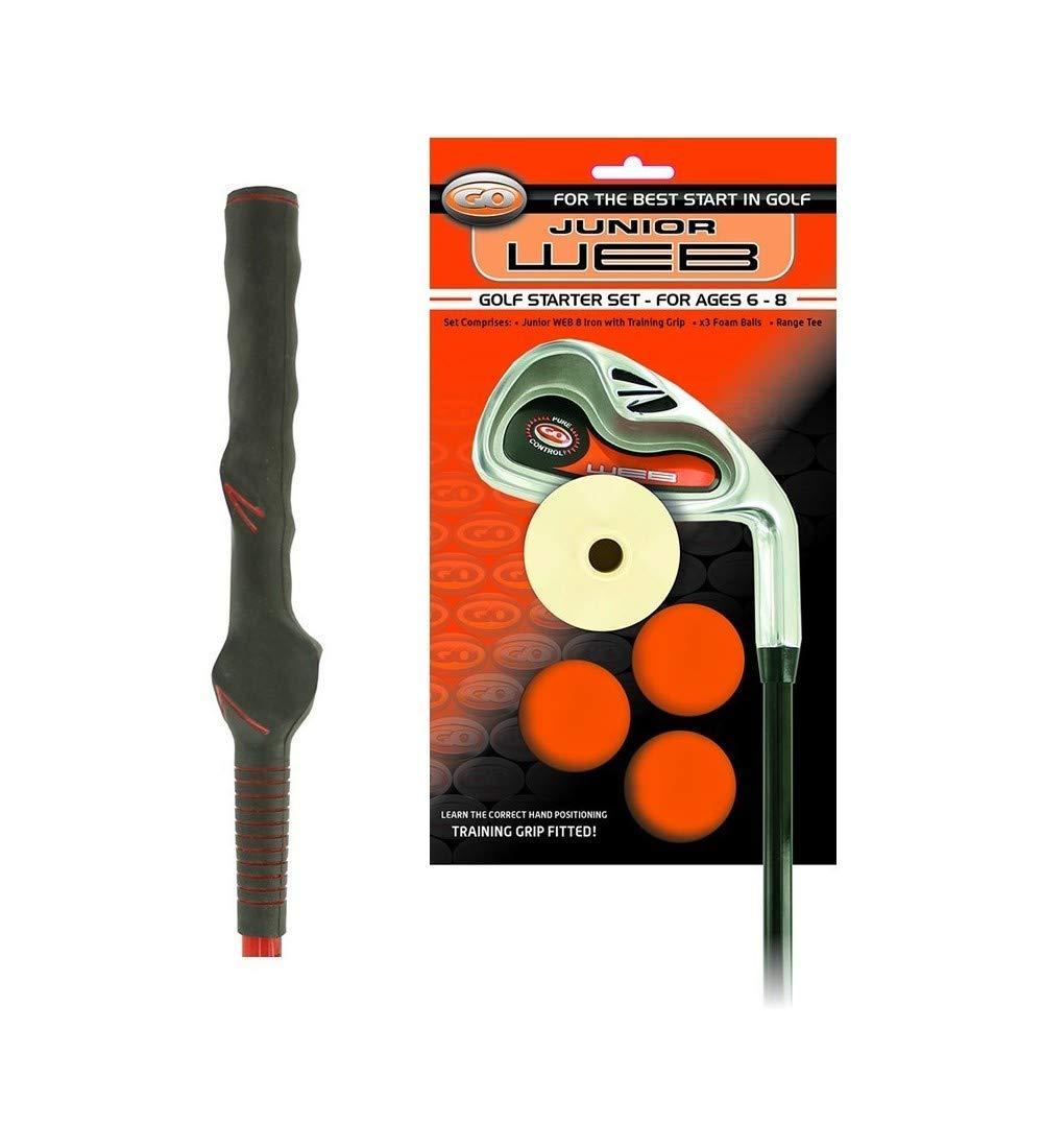 Go Junior Web Golf Iniciador Hierro con Entrenamiento Agarre ...