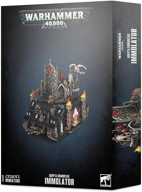 Wooden Panel Immolator Adepta Sororitas Warhammer