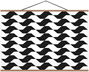 TinYida Sao Paulo Sidewalk Pattern S?O State,Poster S?O Paulo for Decor 24X12In