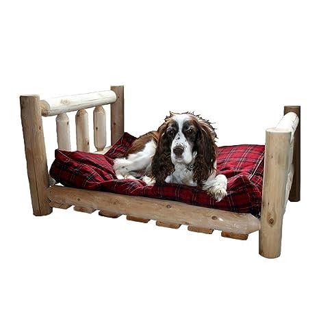 Amazon.com: Medio Cama para perro: Mascotas