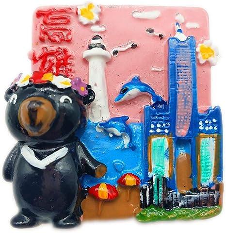 3D Refrigerator Fridge Magnet Toys Kitchen Travel Souvenir Sticker Photo Decor
