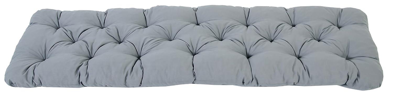 Cuscino per panca da giardino da 2 sedi, colore verde, 120 cm Ambientehome 90363