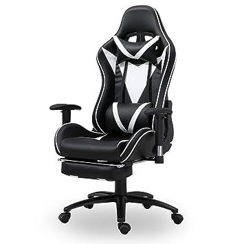 Mit Anpassung Lordosenstütze Bürostuhl Hoher Rückenlehne Ergonomischer Der Zur Und Kopfstütze Gaming Stuhl Xmaf Computer K1cTJlF