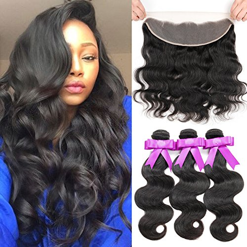 Hair Peruvian Frontal Unprocessed Shedding product image