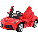 Costzon 12V LaFerrari Kids Ride On Car Battery Powered with Remote Control MP3 LED Lights