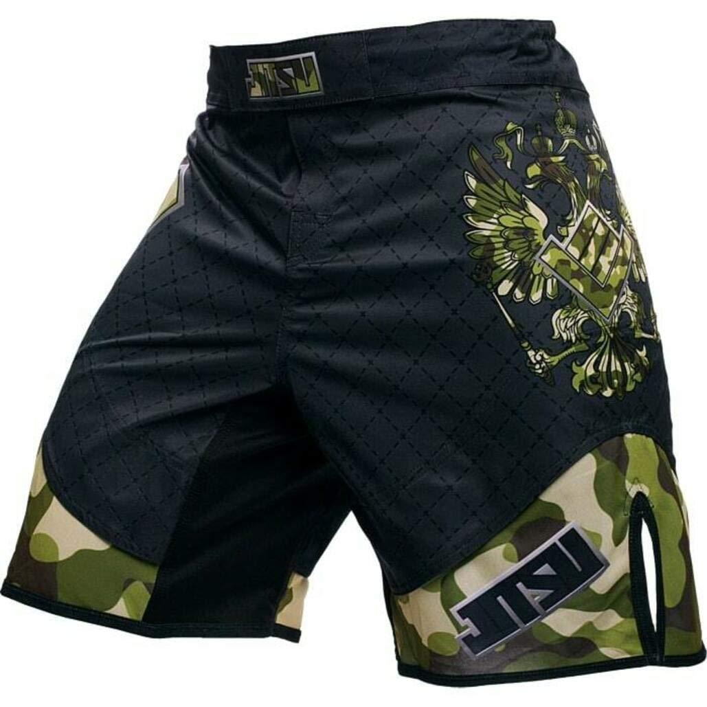 Jitsu Fight Shorts for Men Patriot Camo MMA BJJ UFC Kampfsport
