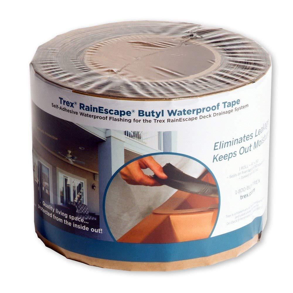 Trex RainEscape Butyl Waterproof Tape Roll 4 in. x 50 ft.