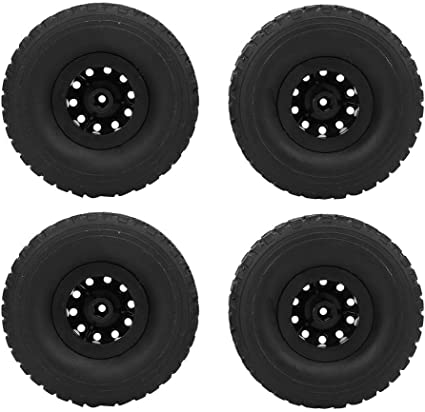 116 Scale RC Car Rubber Wheel Rim Tire Tyre Part for WPL B-14 FY001