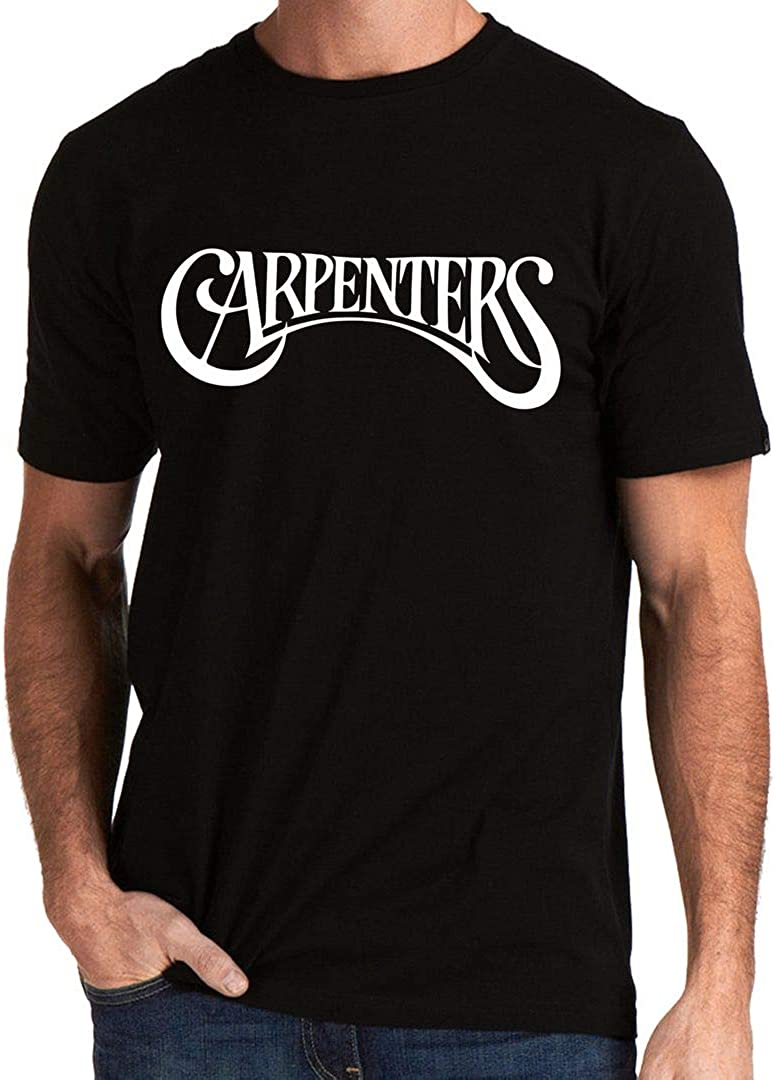 EmoBug The Carpenters Band Logo Music Tee Men's T-Shirt