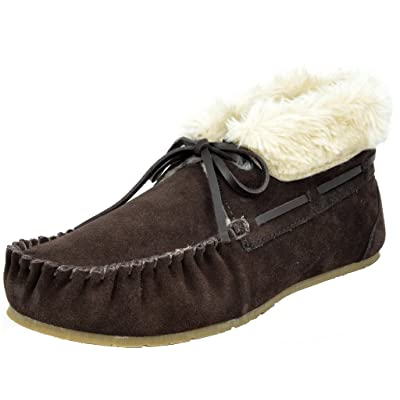 Amazon.com | DREAM PAIRS Women's Shozie-02 Brown Faux Fur Slippers Loafers Flats Booties - 11 M US | Slippers
