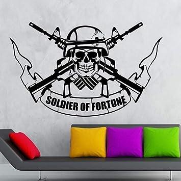 Ponana Vinilo Pegatina Soldado Tatuajes De Pared Guerra Militar ...