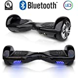 """CHO 6.5"""" inch Wheels Original Electric Smart Self Balancing Scooter Hoverboard With Built-In Bluetooth Speaker- UL2272 Certified"""