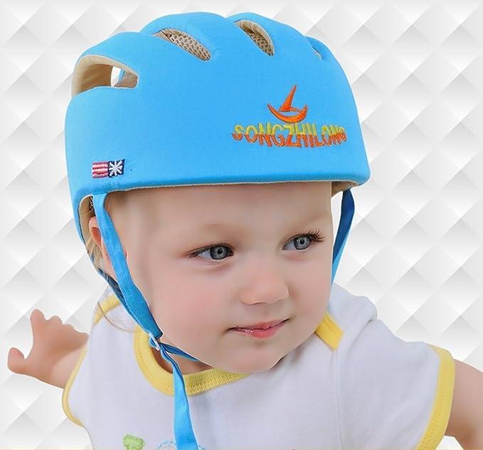 Ibepro® infantil de casco de seguridad para bebé Niños gorro de ...
