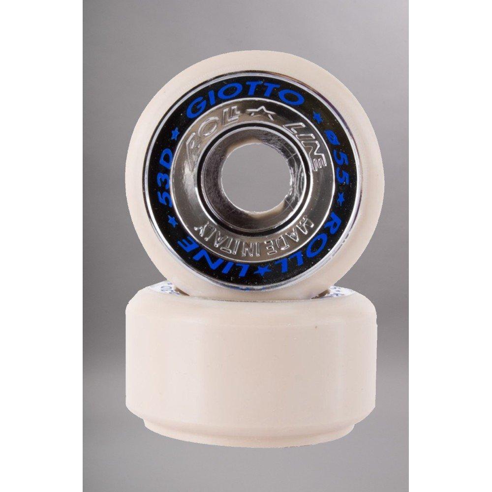 Roll Line Roller-Rueda artística Giotto 55 mm X8-talla: talla única Talla:55MM-49D: Amazon.es: Deportes y aire libre