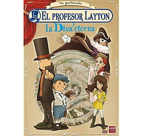 Profesor Layton Y La Diva Eterna [DVD]: Amazon.es: Animación, Masakazu Hashimoto, Animación, N/A: Cine y Series TV