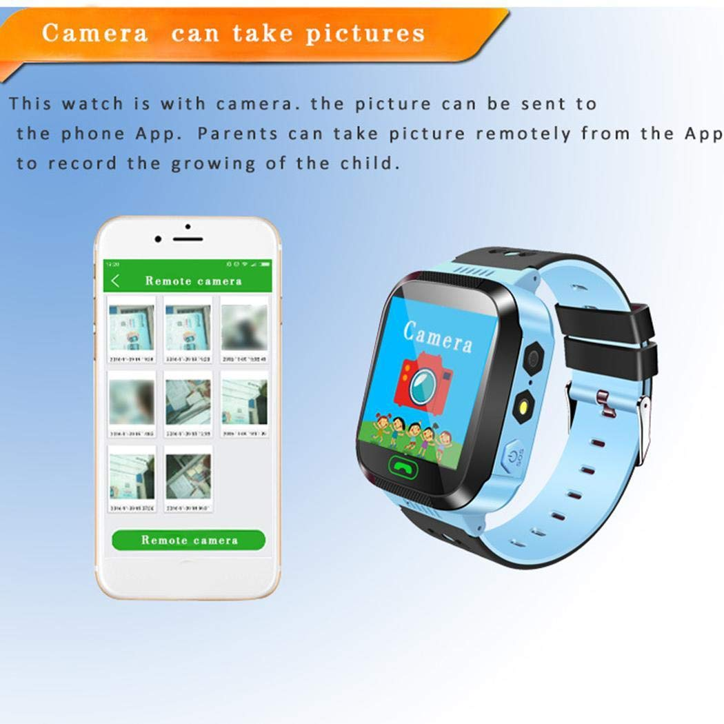 Junio1 Kids Smart Watch Two-way Voice Chat Positioning Track Touch Screen Wristwatch Smartwatches