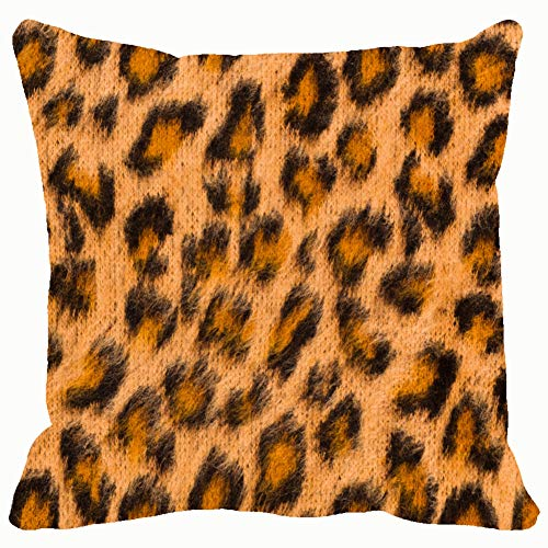 Leopard Skin Pink Colour Textured Pattern Backgrounds Textures Abstract. Throw Pillow Covers Cotton Linen Cushion Cover Cases Pillowcases Sofa Home Decor 18