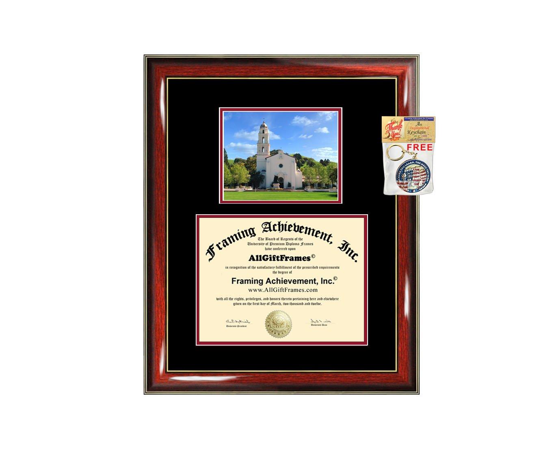 Mount Saint Mary's University California Diploma Frame MSMU Graduation Degree Frame Certificate Plaque Framing College Holder Graduate Gift