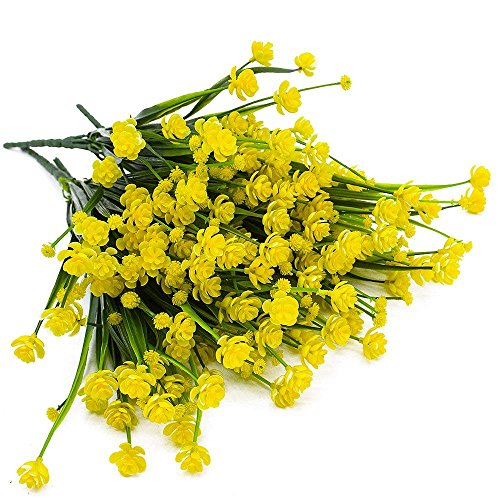 4pcs-Artificial-Yellow-Daffodils-Flowers-Fake-Shrubs-UV-Resistant-Faux-Plants-Faux-Plastic-Bushes-Indoor-Outdoor-Home-Office-Garden-Patio-Yard-Table-Wedding-Farmhouse-Centerpieces-Pot-Decor-Yellow