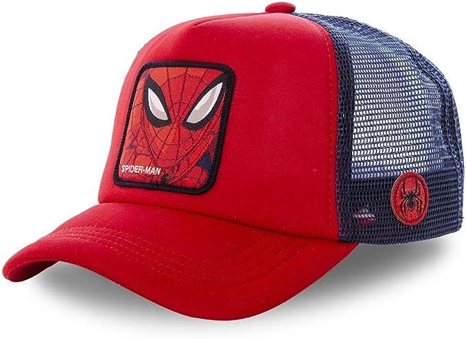 CAPSLAB Gorra de béisbol para Hombre Marvel Spider-Man Captain ...