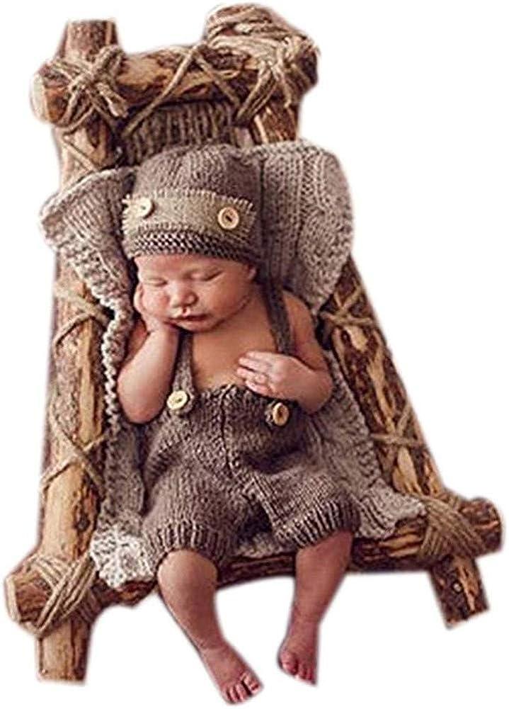 Celendi Baby Hats Newborn Kids Photography accessories Hand Knit Posing Props