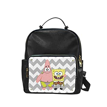 Image Unavailable. Image not available for. Color  GeniusBag Custom  SpongeBob Student School Bookbag   Children Sports Backpack ... 6c8beacb78a51