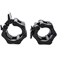 """Clout Fitness Quick Release Pair of Locking 2"""" Olympic Size Barbell Clamp Collar Great for Pro Training by"""