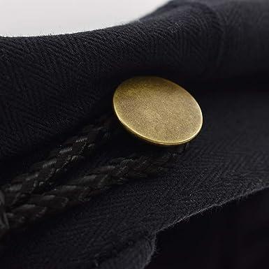 Kesheng Gorra Pescador Griego Gorra Marinera Negra de Algodón 55cm-59cm para  Mujeres  Amazon.es  Ropa y accesorios f95db1b373c
