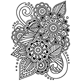 Embossing Henna 4.25 X 5.75 Inches (12 Pack)
