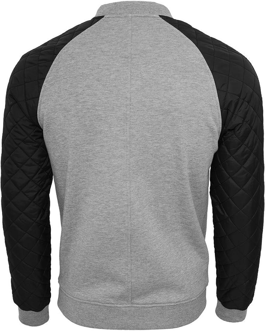 Urban Classic Men's Diamond Nylon Sweatjacket Jacket: Amazon
