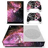 UUShop Xbox One S Slim Skin Vinyl Decal Cover Stickers for Microsoft Xbox One S Galaxy Starry Sky