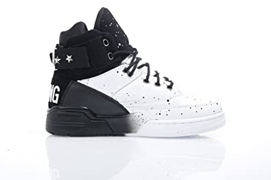 sports shoes 7958f c97e0 Image Unavailable. Image not available for. Color  PATRICK EWING Athletics  33 HI x 2 Chainz Black White Silver ...