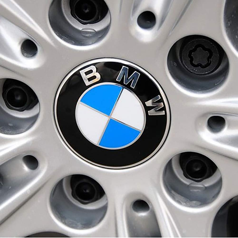 5 Myhonour 4X Compatible with Felgendeckel Nabenkappen BMW 68mm