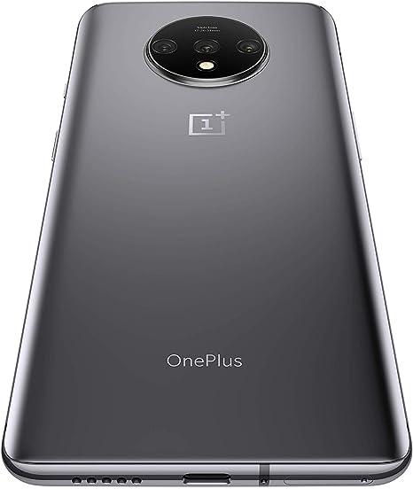 OnePlus 7T HD1900 4G - Smartphone Libre (Pantalla de 6,55 Pulgadas, 8 GB de RAM + 256 GB de Almacenamiento, Pantalla extraíble de 90 Hz, Color Plateado Esmerilado: Amazon.es: Electrónica