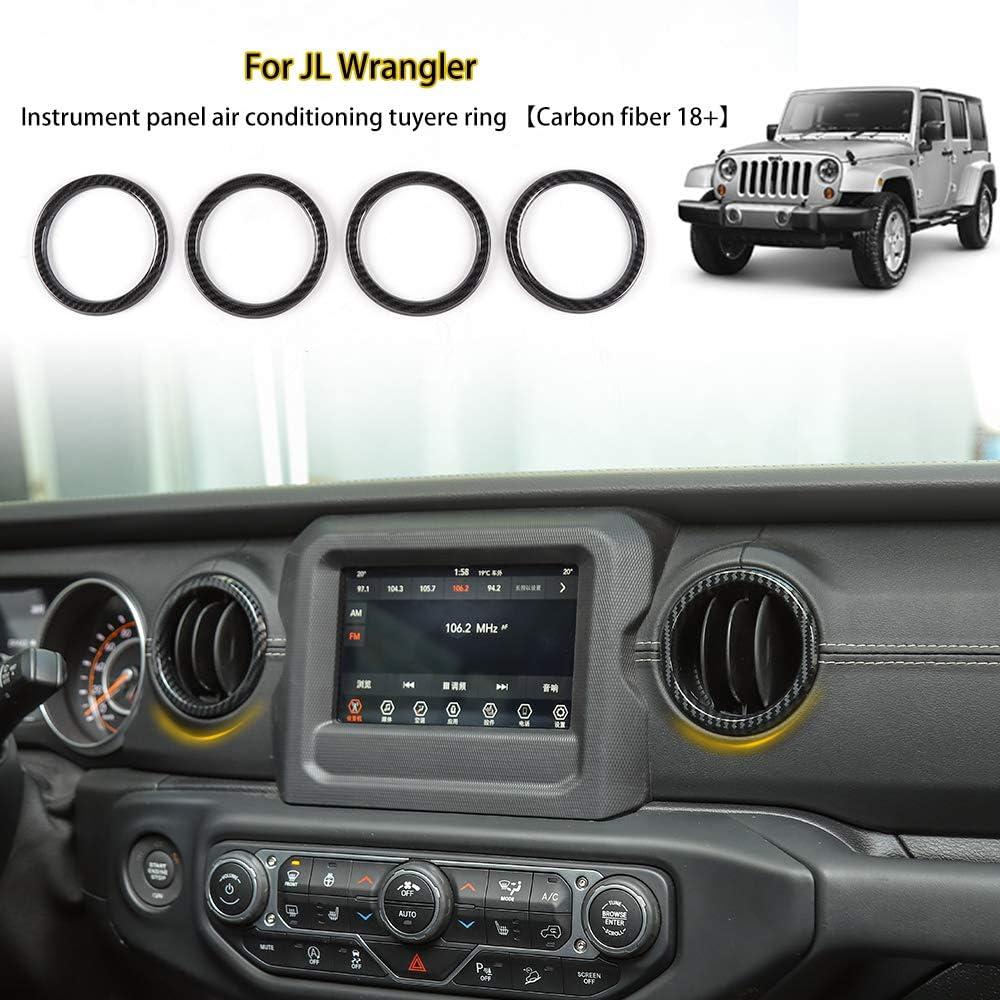 RT-TCZ Car Door Handle Bowl Cover Decor Trim JL Accessories for Jeep Wrangler 2018-2020 JL 4-Door Purple