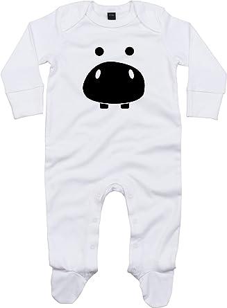 Pijama para bebé con diseño de Caballo, hipopótamo y ...