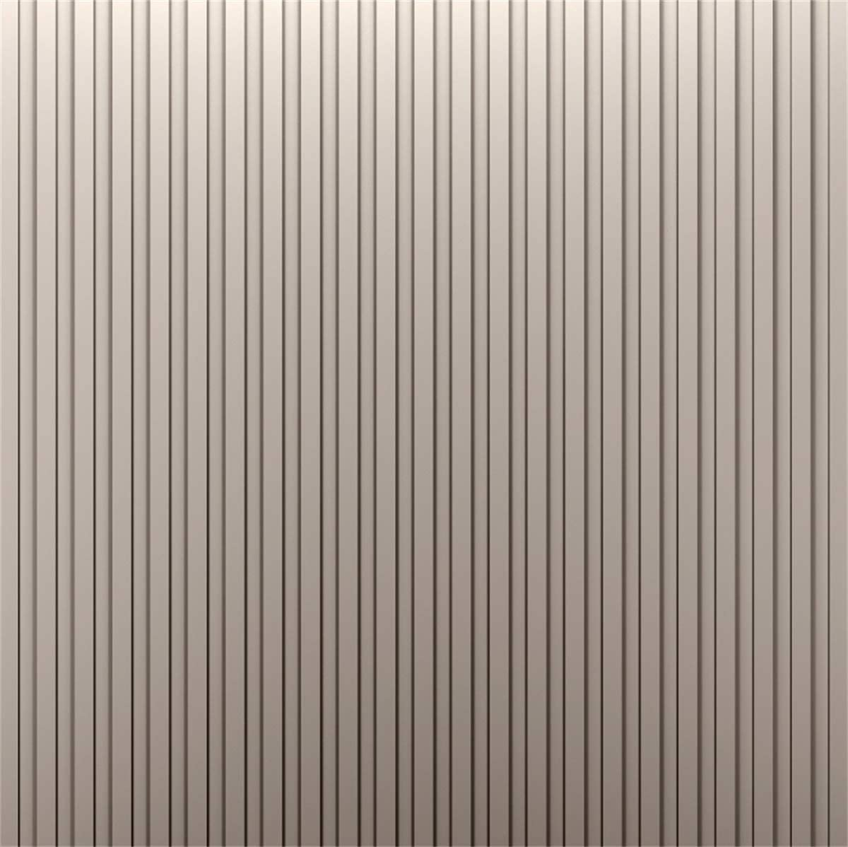 YEELE Gray and Yellow Striped Backdrop 10x10ft Kids Birthday Party Photography Background Seamless Pattern Pictures Baby Shower Decoration Kids Adults Portrait Photoshoot Studio Props Wallpaper
