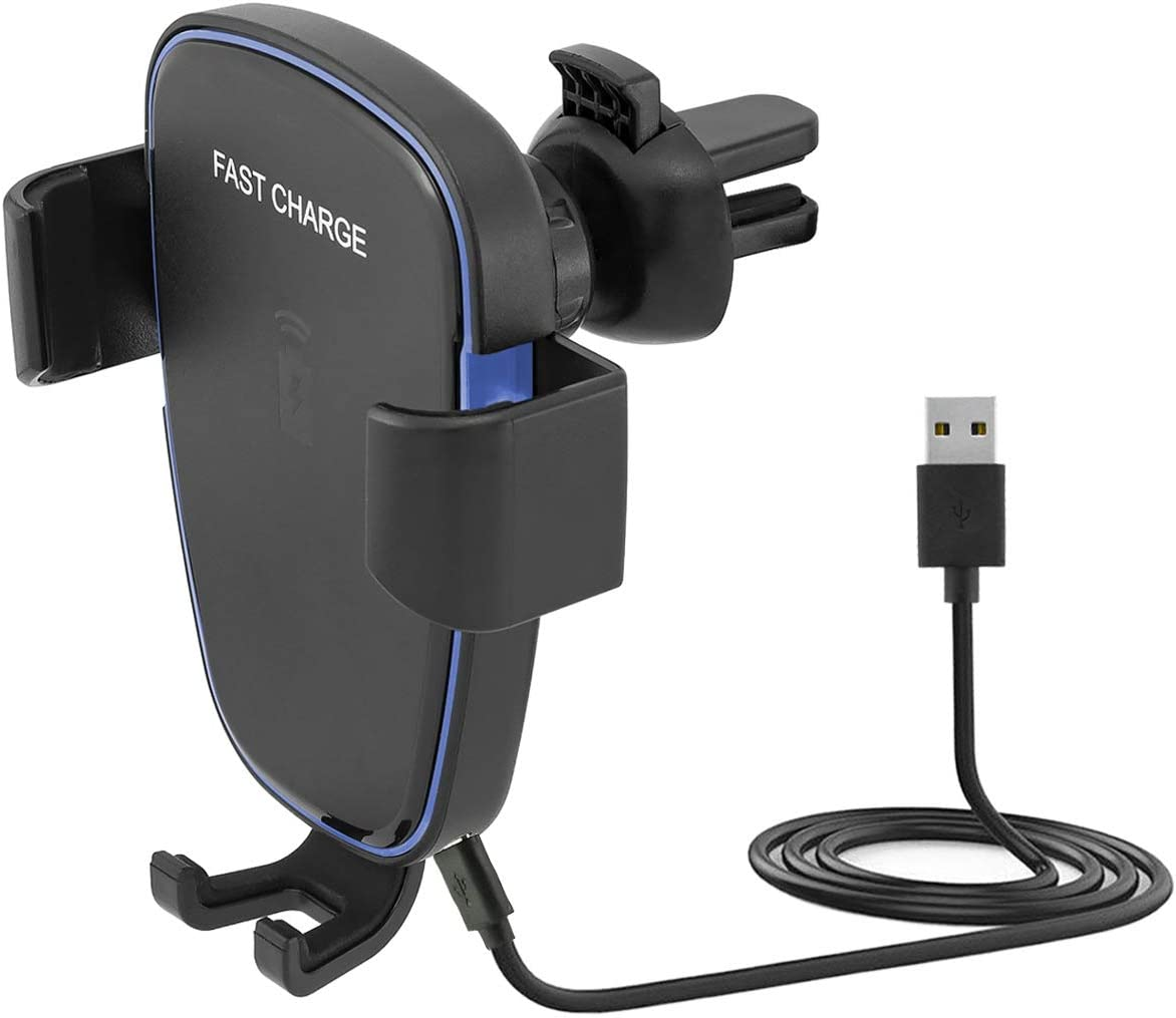 Midgard Wireless Lüftung Auto Halterung Für Qi Fähigen Elektronik