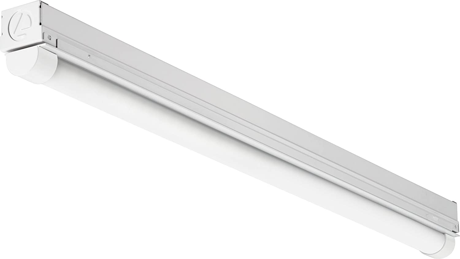 Lithonia Lighting CMNS L23 1LL 120V 840 M6 Non-Dimmable Strip Light, 1 Led Lamp, 120 V, 1150 Lumens, 4000 K, CRI 80
